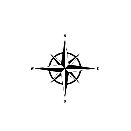 Sticker Compass