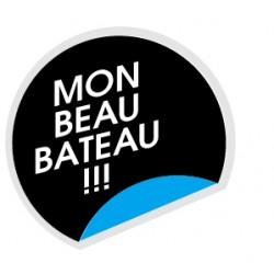 Sticker Mon Bateau 1