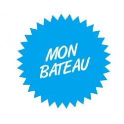 Sticker Mon Bateau 2