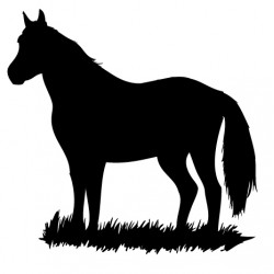 Sticker Cheval 2
