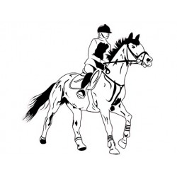 Sticker Galop