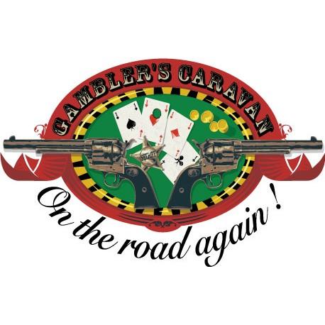 Sticker Gambler Caravan