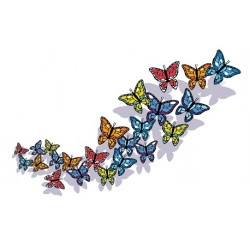 Sticker Papillon 1