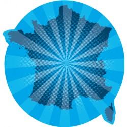 Sticker France bleue