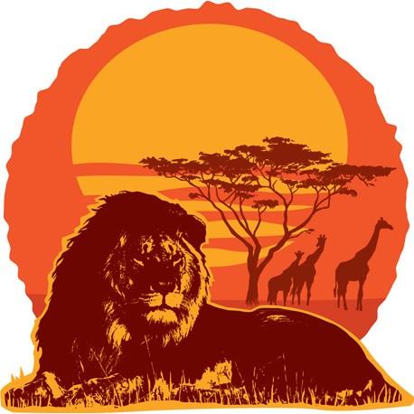 """Sticker """"Kenya 1"""""""