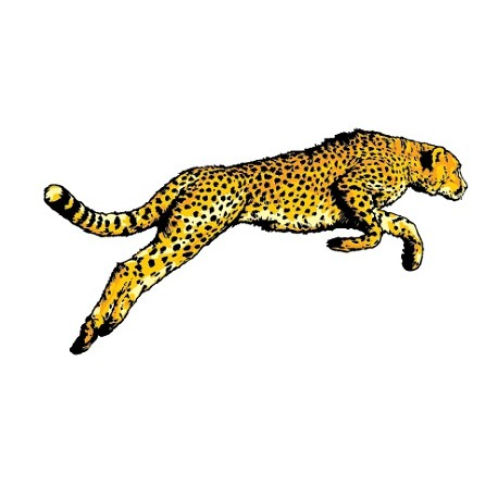 Sticker Guepard