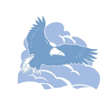 Sticker Aigle 1