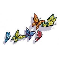Sticker Envol Papillons 3