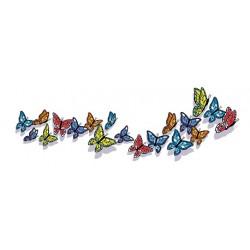 Sticker Envol Papillons 2