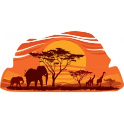 "Sticker ""Savane 1"""