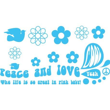 Sticker Peace Big