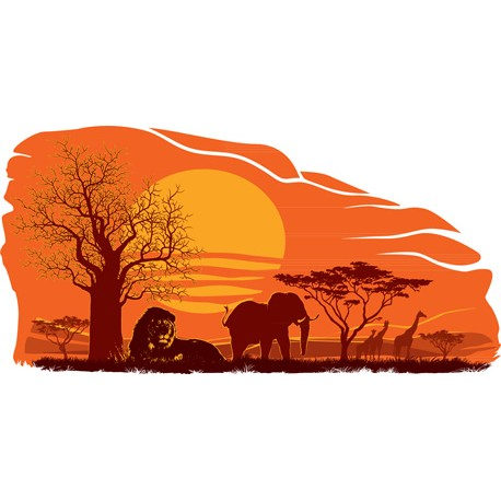"Sticker ""Savane 2"""