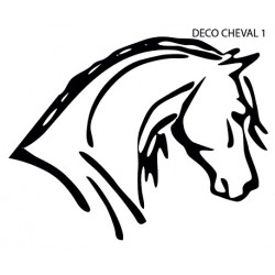 Sticker Cheval Uno