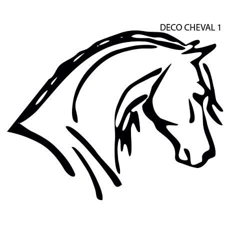 Sticker Cheval Uno
