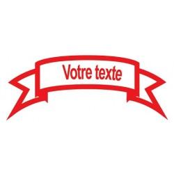 Sticker Bannière Personnalisable 2
