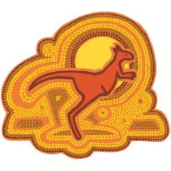 Sticker kangooroo