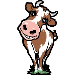Sticker Vache Caline