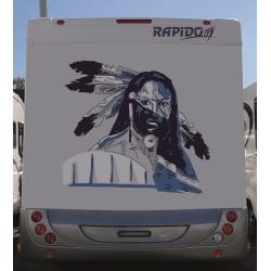 Sticker Indian