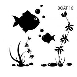 Sticker Boat 16