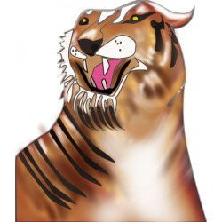 Sticker Tigre 8