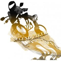 Sticker Legend Biker
